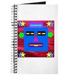 Robot Island Chief Head Journal