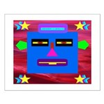 Robot Island Chief Head Small Poster