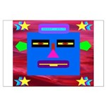 Robot Island Chief Head Large Poster