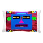 Robot Island Chief Head Pillow Case