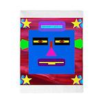 Robot Island Chief Head Twin Duvet