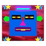 Robot Island Chief Head King Duvet