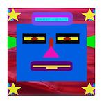Robot Island Chief Head Tile Coaster
