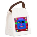 Robot Island Chief Head Canvas Lunch Bag