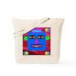 Robot Island Chief Head Tote Bag