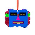 Robot Island Chief Head Picture Ornament