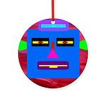 Robot Island Chief Head Ornament (Round)