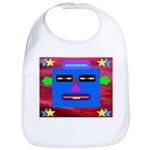 Robot Island Chief Head Bib