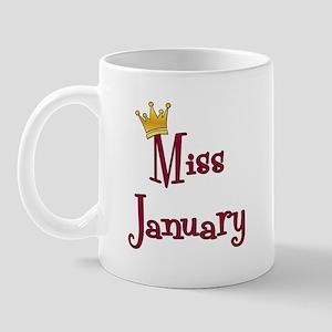 Miss January Mug