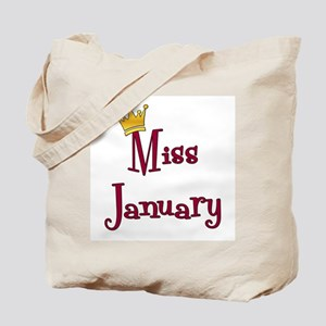 Miss January Tote Bag