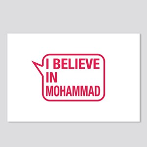 I Believe In Mohammad Postcards (Package of 8)