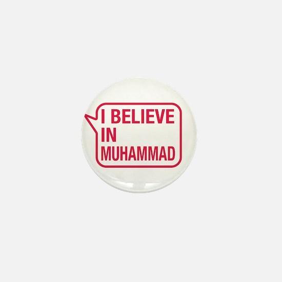 I Believe In Muhammad Mini Button