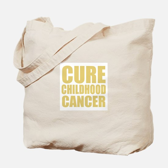 CURE CHILDHOOD CANCER Tote Bag