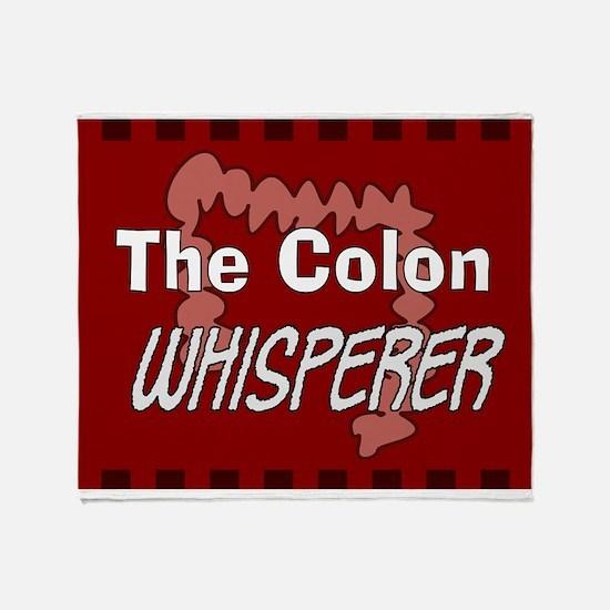 The colon whisperer blanket 2 Throw Blanket