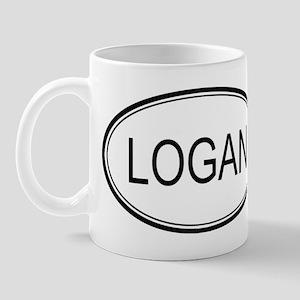 Logan Oval Design Mug