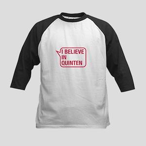 I Believe In Quinten Baseball Jersey