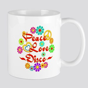 Peace Love Disco Mug