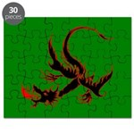 Black Spitfire Dragon Puzzle