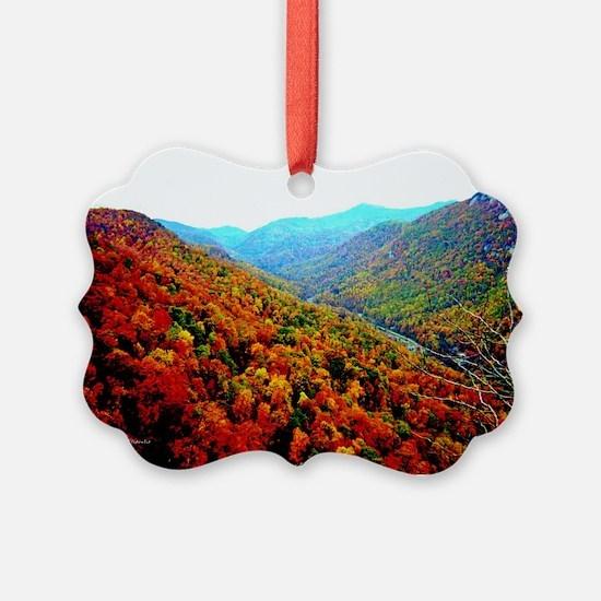 Through The Mountains Ornament