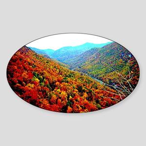 Through The Mountains Sticker