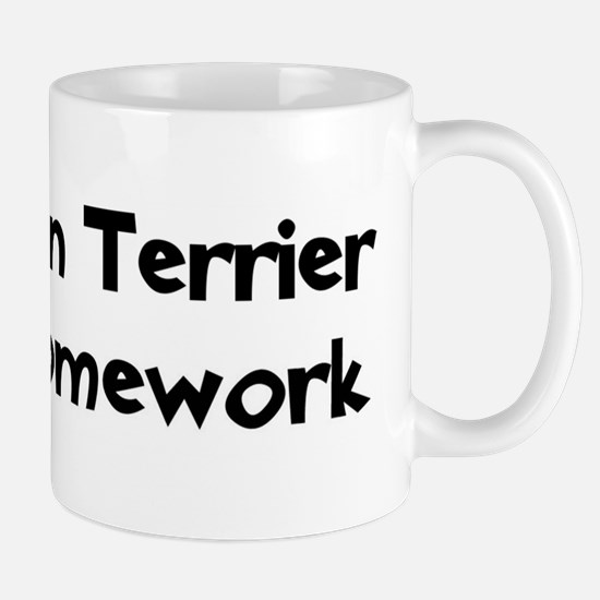 Tibetan Terrier ate my homewo Mug