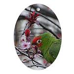 Cherry Blossom Cherryhead Oval Ornament