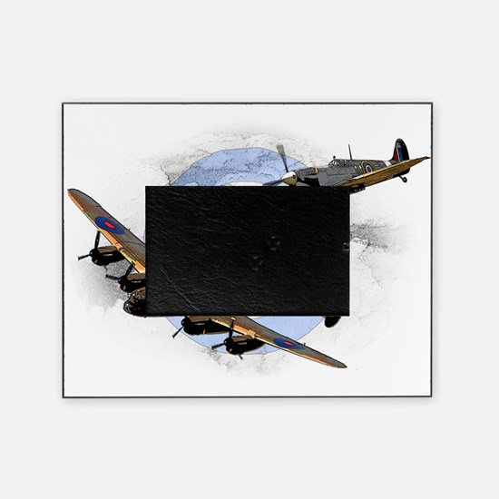 Spitfire and Lancaster Picture Frame