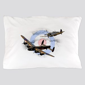 Spitfire and Lancaster Pillow Case