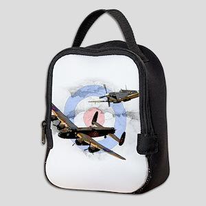 Spitfire and Lancaster Neoprene Lunch Bag