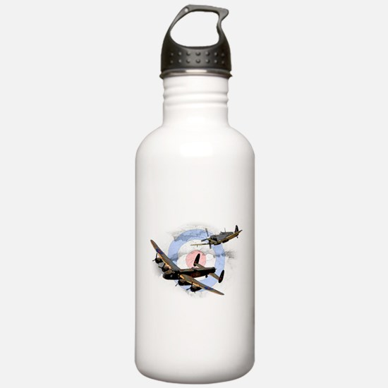 Spitfire and Lancaster Water Bottle