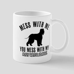 Irish Water Spaniel owner designs Mug