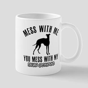 Italian Greyhound owner designs Mug