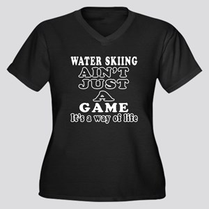 Water Skiing ain't just a game Women's Plus Size V