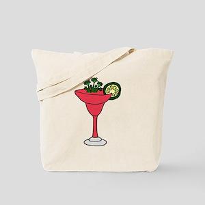 Frogs in Margarita Drink Tote Bag