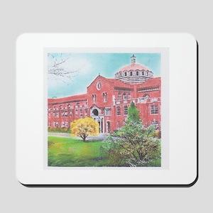 School in color Mousepad
