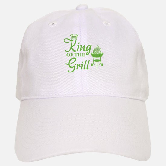 King of the grill Baseball Baseball Cap