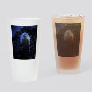 Phantom in the Ruins Drinking Glass