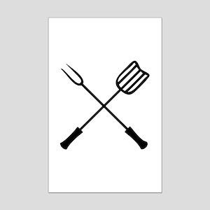 Barbecue Mini Poster Print