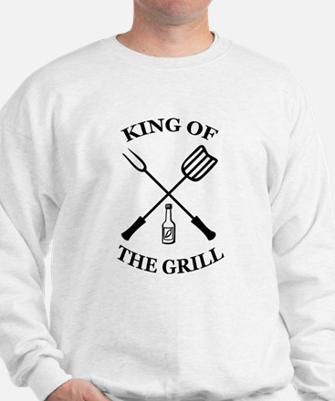 King of the grill Sweatshirt