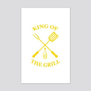 King of the grill Mini Poster Print