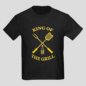 King of the grill Kids Dark T-Shirt