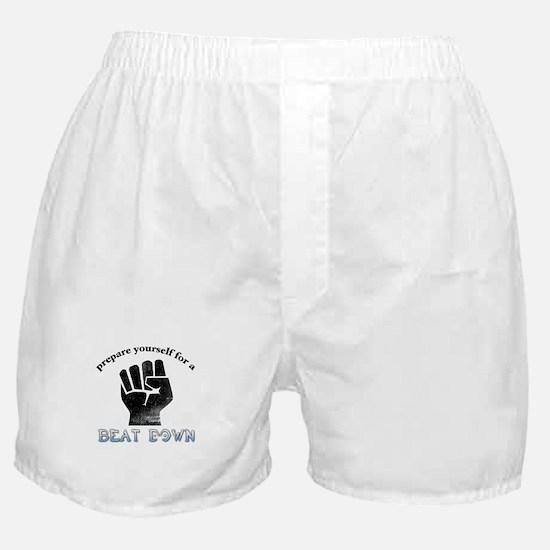 Beat-Down Boxer Shorts