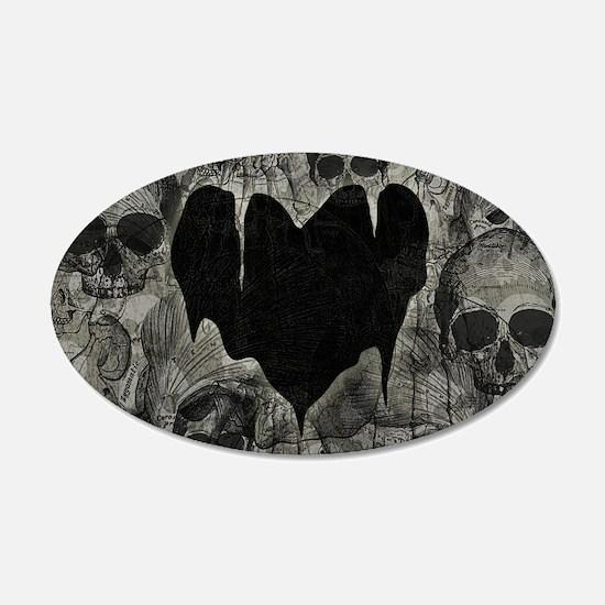Bleak Heart Wall Decal