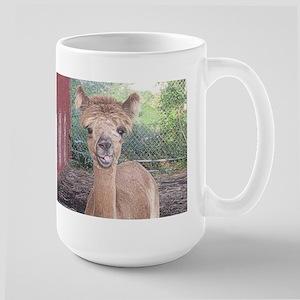 Alpaca Giving Raspberries Mug
