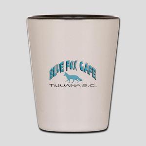 Blue Fox Cafe Shot Glass