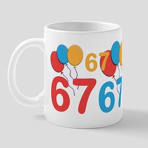 67 Years Old - 67th Birthday Mug