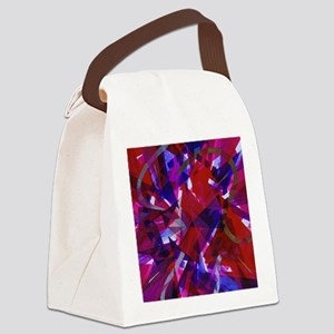 Dance of Life Abstract Canvas Lunch Bag