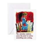 Calendar Makers Greeting Cards (Pk of 10)