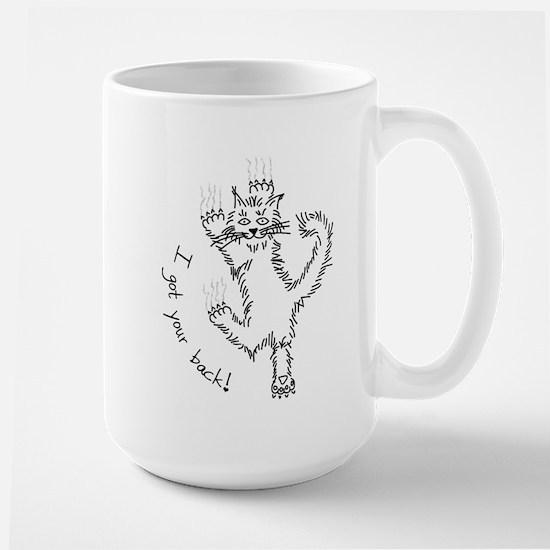 I got your back! - Large Mug