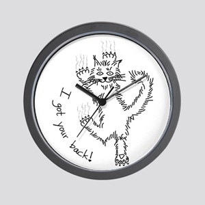 I got your back! - Wall Clock